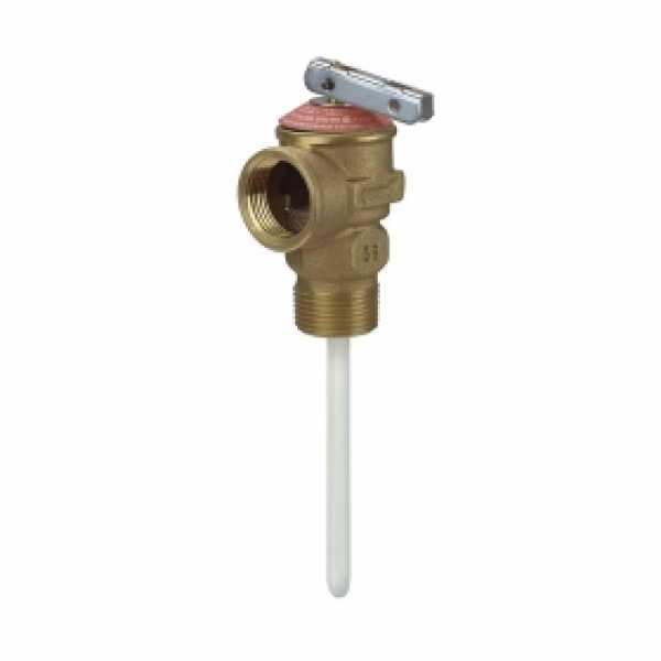 "3/4"" Temperature & Pressure Relief Valve w/ 4"" probe"