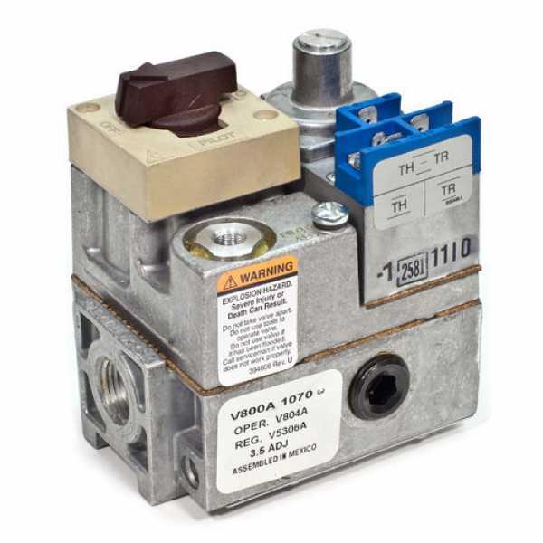 "Honeywell V800A1070 24 Vac, Standard Opening Gas Valve 1/2"" x 3/4"""