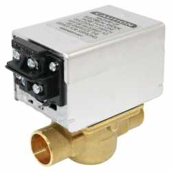 """Honeywell V8043F1036 Two-way, Straight-through Zone Valve, 3/4"""" Sweat Connection"""