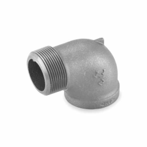 "1-1/2"" Black 90° Street Elbow"
