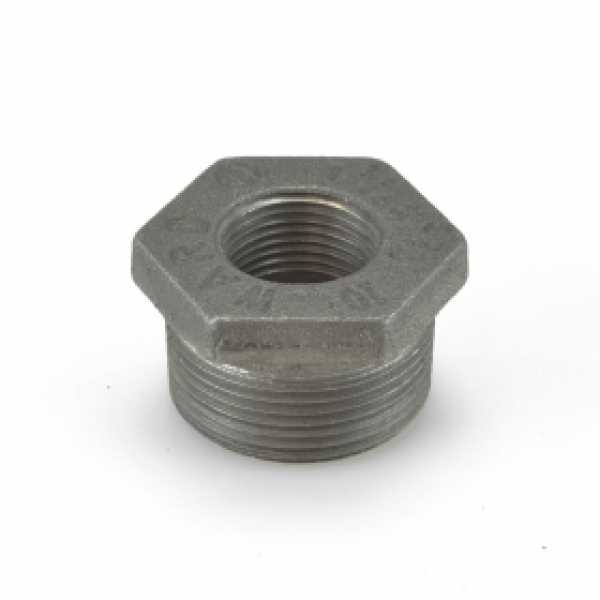 "1-1/4"" x 3/4"" Black Bushing"