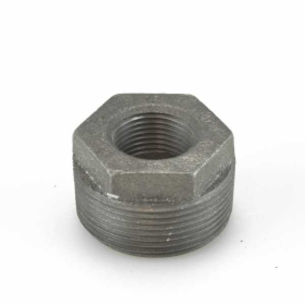 "1-1/4"" x 1"" Black Bushing"