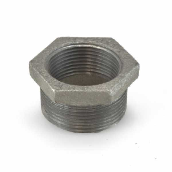 "1-1/2"" x 1-1/4"" Black Bushing"