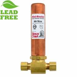 "Sioux Chief 660-GTC0 Mini-Rester Water Hammer Arrestor, 1/4"" O.D. compr. Tee"