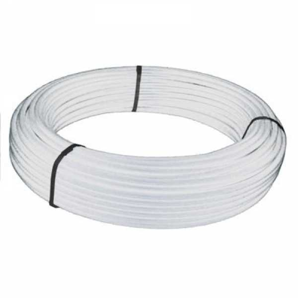 PEX Tubing, 1/2 in x 100 ft, Non-Barrier, White