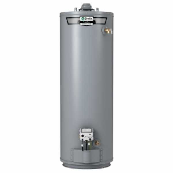 50 Gal, ProLine Atmospheric Vent Short Water Heater (NG), 10-Yr Wrty