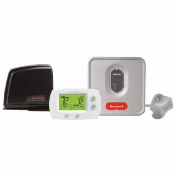 FocusPRO Non-Programmable Wireless Thermostat Kit w/ Internet Gateway, EIM and Return Air Sensor