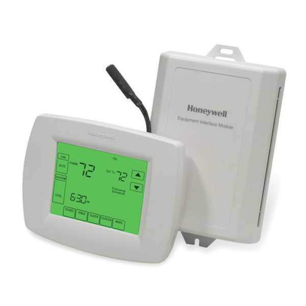 Honeywell YTH9421C1010 VisionPRO IAQ Series 7 Day Programmable MultiStage Thermostat, Settable Heat: 40 F to 90 F; Cool: 60 F to 99 F