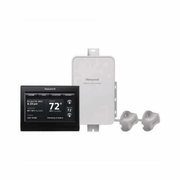 Prestige IAQ Series 7 Day Programmable MultiStage Thermostat YTHX9421R5085BB, Settable Heat: 40 F to 90 F; Cool 50 F to 99F