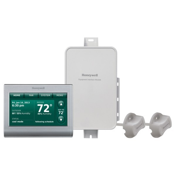 Prestige IAQ Series 7 Day Programmable MultiStage Thermostat YTHX9421R5085WG, Settable Heat: 40 F to 90 F; Cool 50 F to 99F