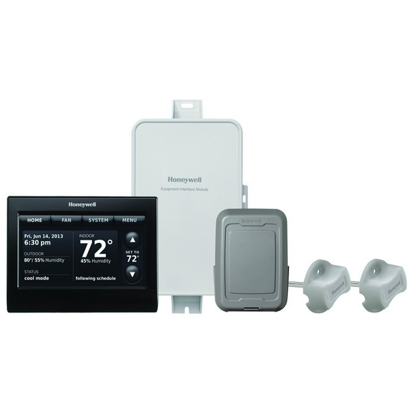 Prestige IAQ Series 7 Day Programmable MultiStage Thermostat YTHX9421R5101BB, Settable Heat: 40 F to 90 F; Cool 50 F to 99F