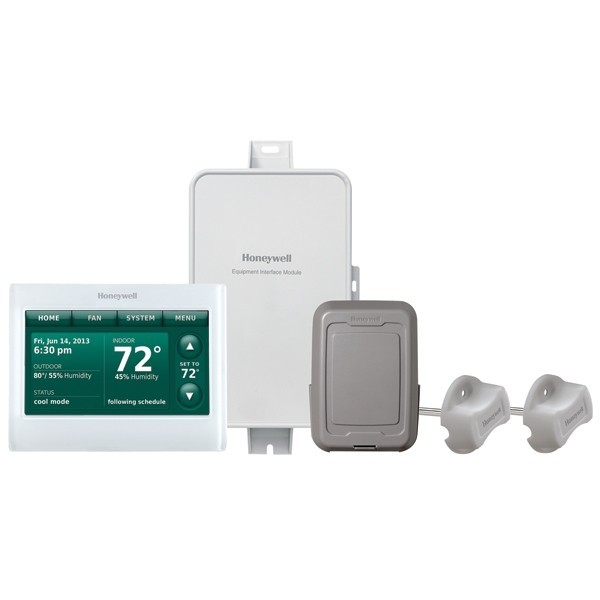 Prestige IAQ Series 7 Day Programmable MultiStage Thermostat YTHX9421R5101WG, Settable Heat: 40 F to 90 F; Cool 50 F to 99F