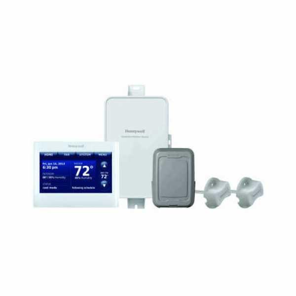 Prestige IAQ Series 7 Day Programmable MultiStage Thermostat YTHX9421R5101WW, Settable Heat: 40 F to 90 F; Cool 50 F to 99F