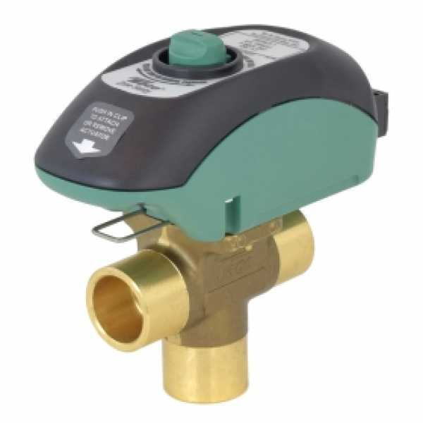 "3/4"" Sweat Zone Sentry Zone Valve, 3-Way, Normally Closed"