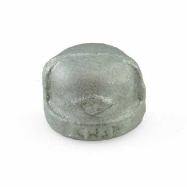 """1/2"""" Galvanized Cap"""