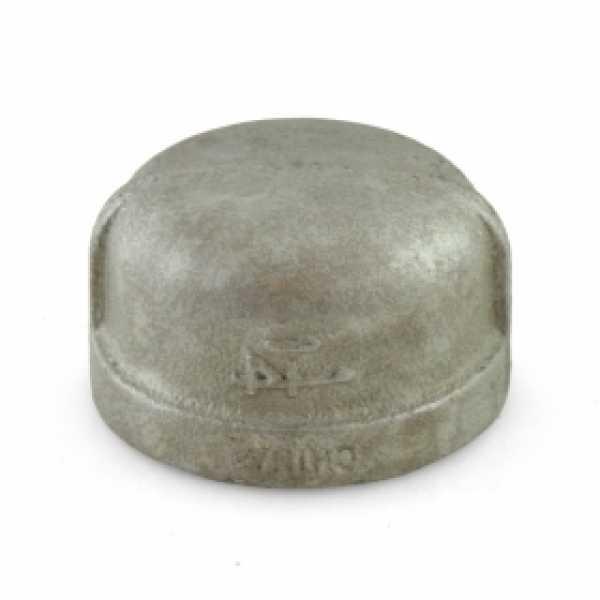 """1-1/4"""" Galvanized Cap"""