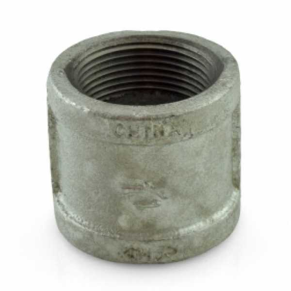 "1-1/4"" Galvanized Coupling"