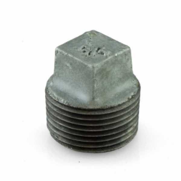 """3/4"""" Galvanized Plug"""