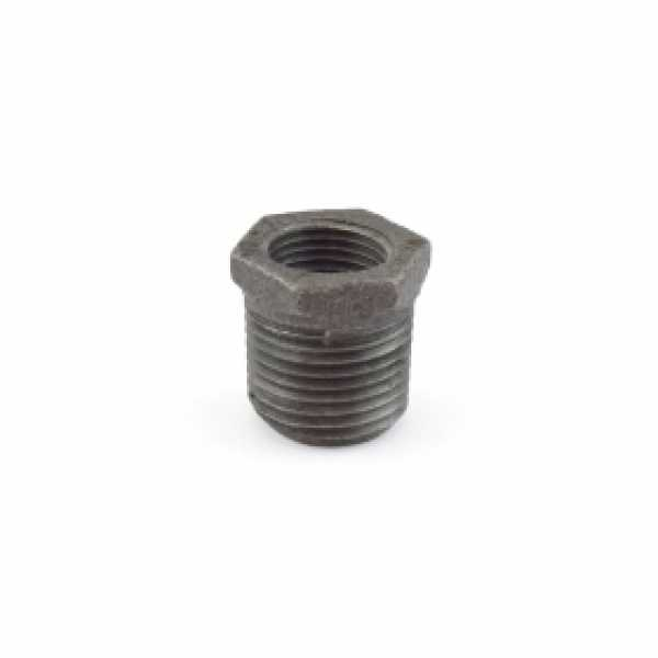 "1/2"" x 3/8"" Black Bushing (Imported)"