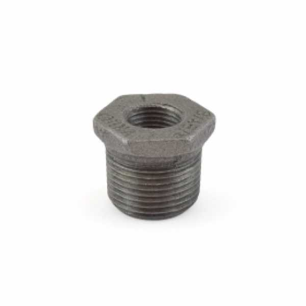 "3/4"" x 3/8"" Black Bushing"