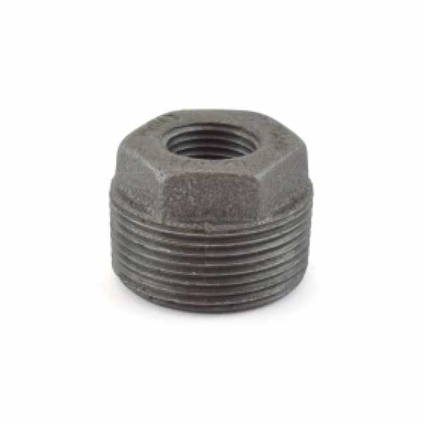 "1-1/4"" x 1/2"" Black Bushing (Imported)"
