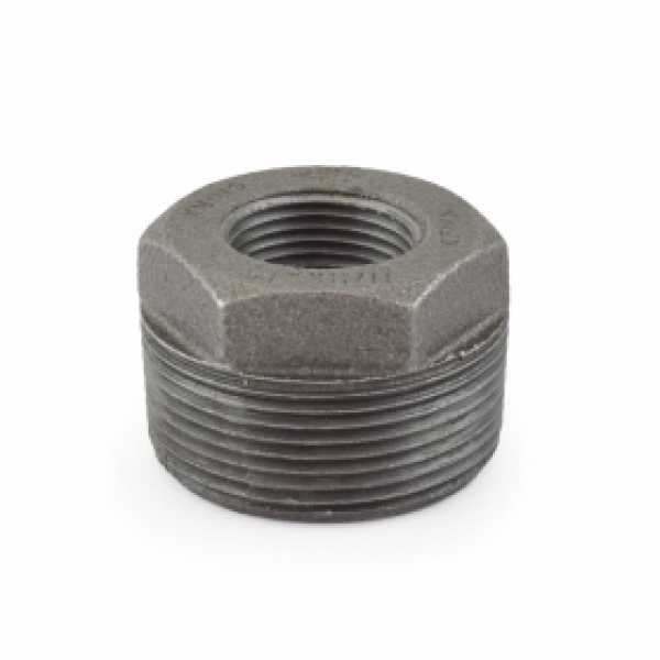 "1-1/2"" x 3/4"" Black Bushing"