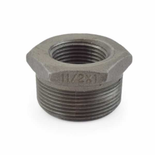 "1-1/2"" x 1"" Black Bushing (Imported)"