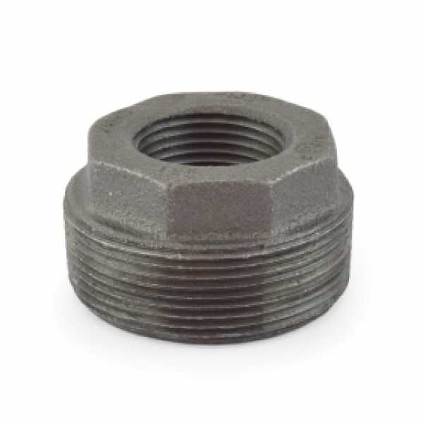 "2"" x 1"" Black Bushing (Imported)"
