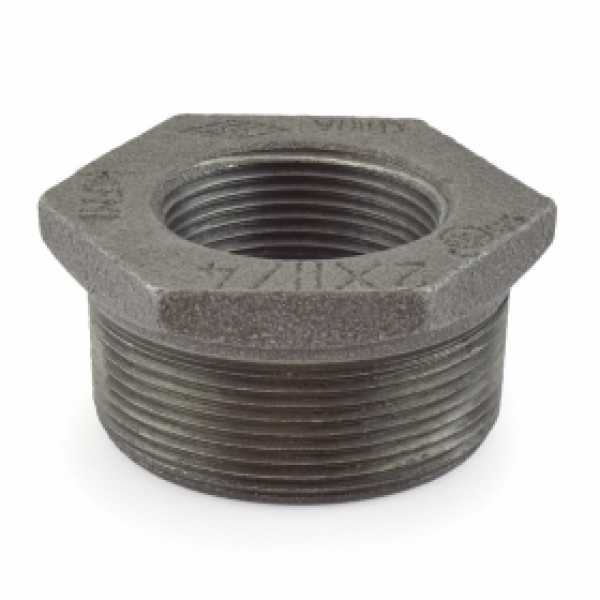 "2"" x 1-1/4"" Black Bushing (Imported)"