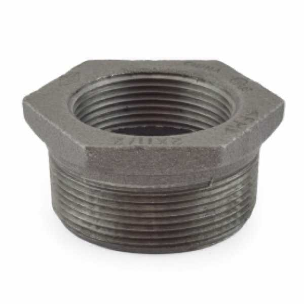 "2"" x 1-1/2"" Black Bushing"