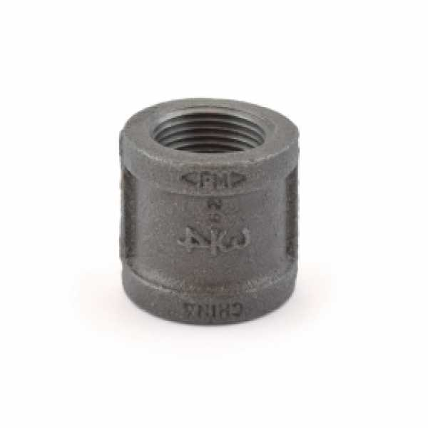 "3/4"" Black Coupling (Imported)"