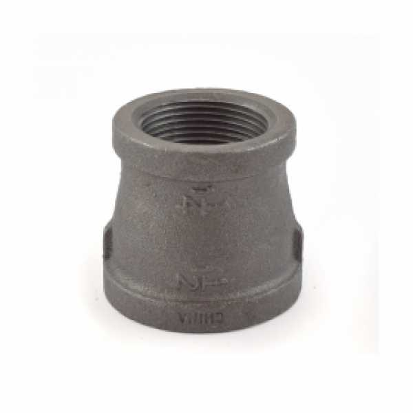"1-1/2"" x 1-1/4"" Black Coupling (Imported)"