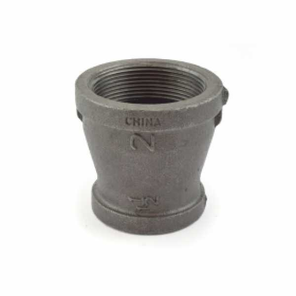 "2"" x 1-1/2"" Black Coupling (Imported)"