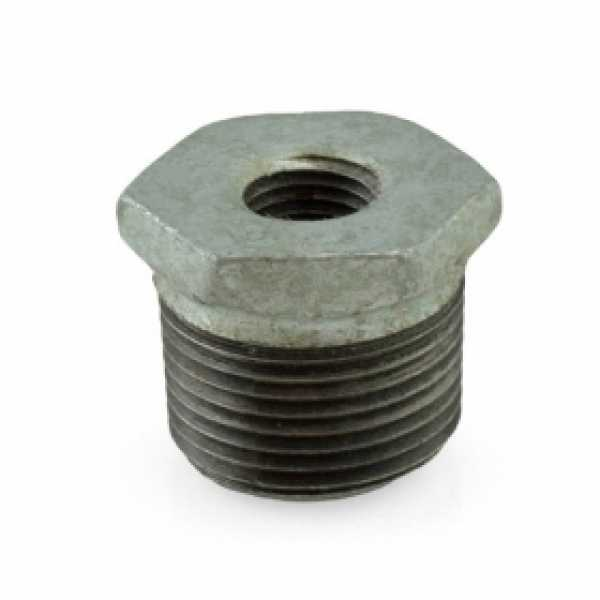 "3/4"" x 1/4"" Galvanized Bushing"