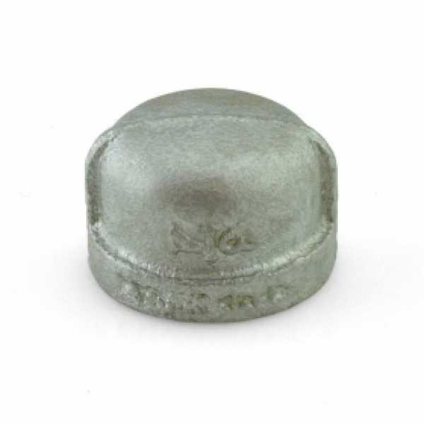 """3/4"""" Galvanized Cap"""