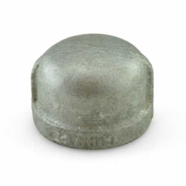 """1"""" Galvanized Cap"""