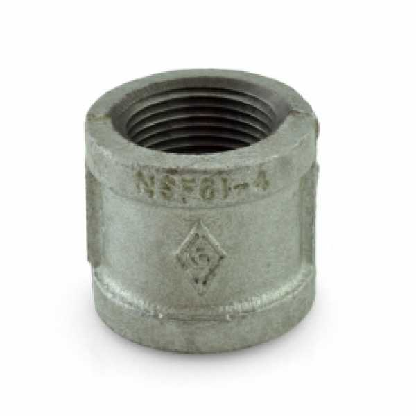 "1"" Galvanized Coupling"